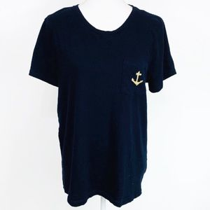 J. Crew Factory Limited Edition Anchor Tee XL